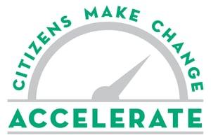 Accelerate logo DATELESS padded