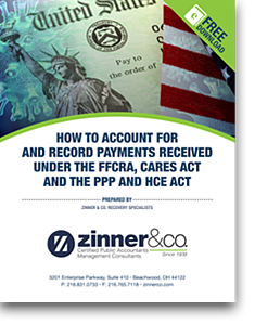 How to Account for and Record Payments Received Under the FFCRA, Cares Act and the PPP and HCE Act Ebook