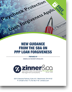 New Guidance from the SBA on PPP Loan Forgiveness COVER