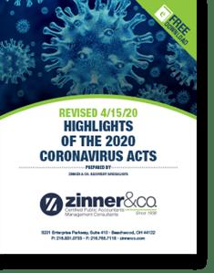Highlights of the 2020 Coronavirus Acts Ebook