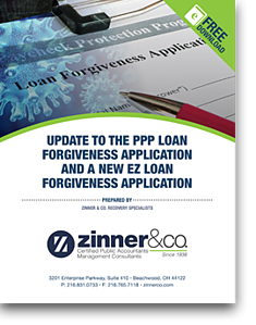 PPP NEW EZ Loan Forgiveness Application Cover