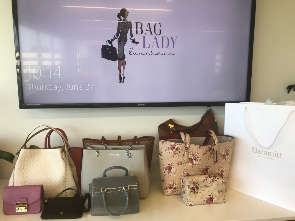 cocktails and handbags