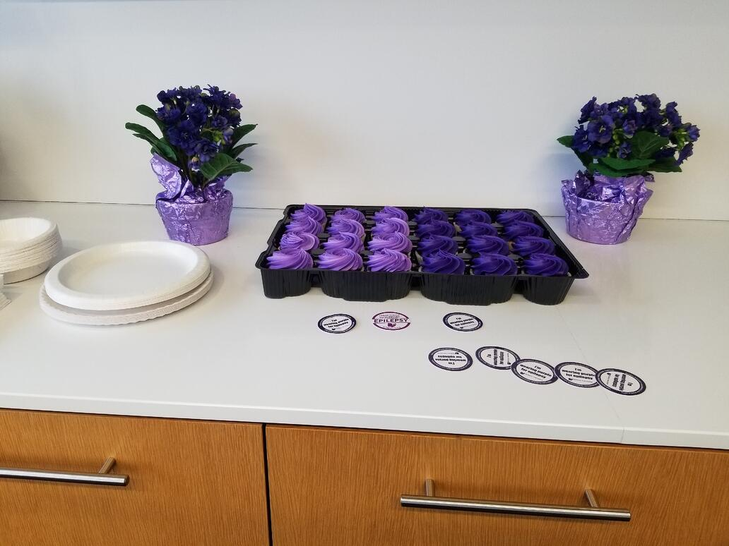 zinner purple cupcakes